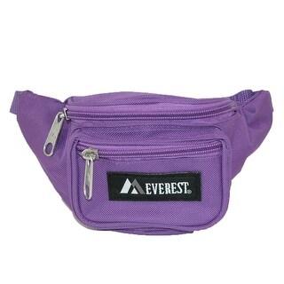 Everest Girls' Fabric Waist Pack Purse