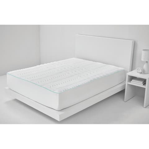 Enhanced Comfort PERFORMANCE Mattress Pad - white