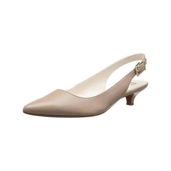 Anne Klein Womens Expert Kitten Heels Pointed Toe
