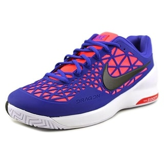 Nike Zoom Cage 2 Men Round Toe Synthetic Blue Tennis Shoe
