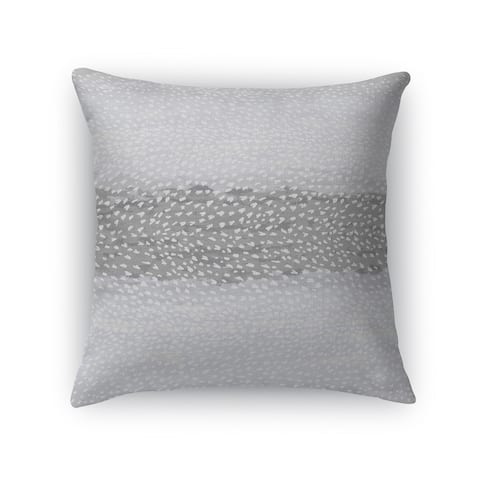 FAWN GREY SINGLE Accent Pillow By Kavka Designs