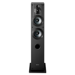 Sony SS-CS3 3-Way 4-Driver Floor-Standing Speaker - Each (Black)