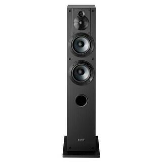 Sony SS-CS3 3-Way 4-Driver Floor-Standing Speaker - Each (Black)