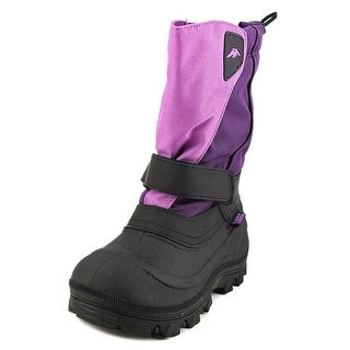 Tundra Quebec Round Toe Leather Snow Boot