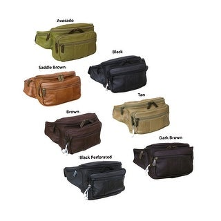 Link to Amerileather Easy Traveller Leather Fanny Pack Similar Items in Fanny Packs