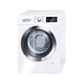Bosch WAT28402U 24 Inch Wide 2.2 Cu. Ft. Energy Star Rated Front Loading Washer with SpeedPerfect - White