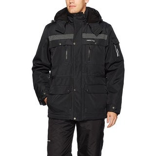 Arctix Men's Performance Tundra Jacket with Added Visibility - Black