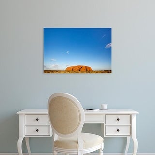 Easy Art Prints Paul Souders's 'Ayers Rock On A Summer Morning' Premium Canvas Art