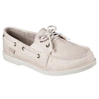 BOBS from Skechers Women's Chill Luxe-Anchor up Flat