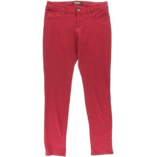 South Pole Womens Plus French Terry STRETCH Skinny Pants - 2X