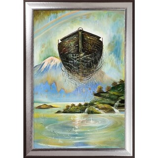 Sergey Roy 'Eternal Ark' Hand Painted Oil Reproduction
