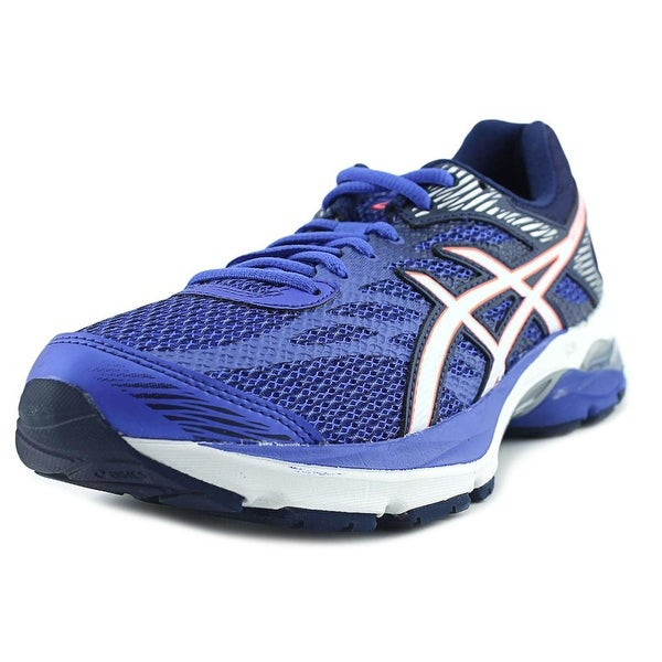 Asics Gel Flux 4 Women Round Toe Synthetic Blue Running Shoe