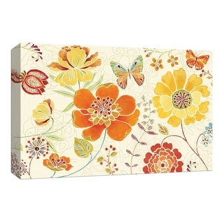 "PTM Images 9-153853  PTM Canvas Collection 8"" x 10"" - ""Spice Bouquet I"" Giclee Flowers Art Print on Canvas"