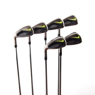 New Nike Vapor Fly Irons 6-SW Dynalite 90 Steel R-Flex LEFT HANDED