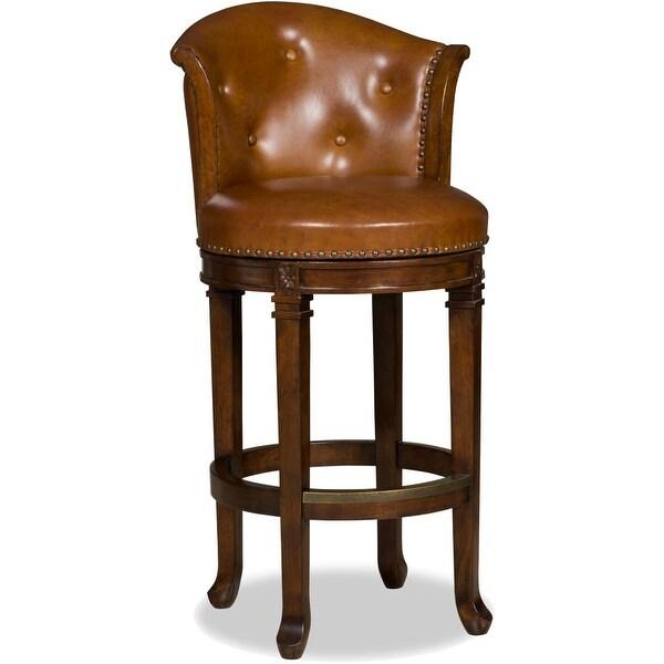 Shop Hooker Furniture 300 20002 21 Inch Wide Wood Framed Leather Mid