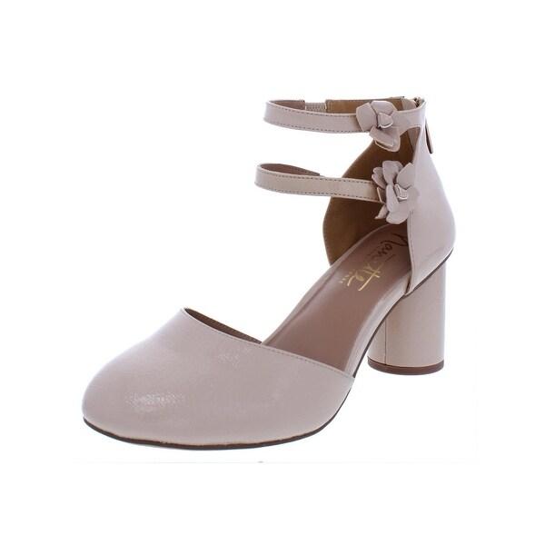 a0231e2b Nanette Nanette Lepore Womens Canada Dress Heels Patent Applique