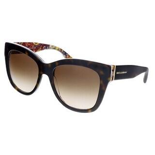 Dolce&Gabbana DG4270  303713 Havana Cateye Sunglasses - 55-19-140