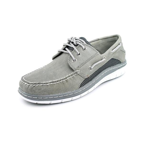 Sperry Top Sider Billfish Ultralite 3-Eye Men  Moc Toe Leather Gray Boat Shoe