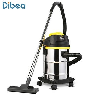 Dibea DU100 Barrel Type Wet / Dry Vacuum Cleaner Cleaning Machine