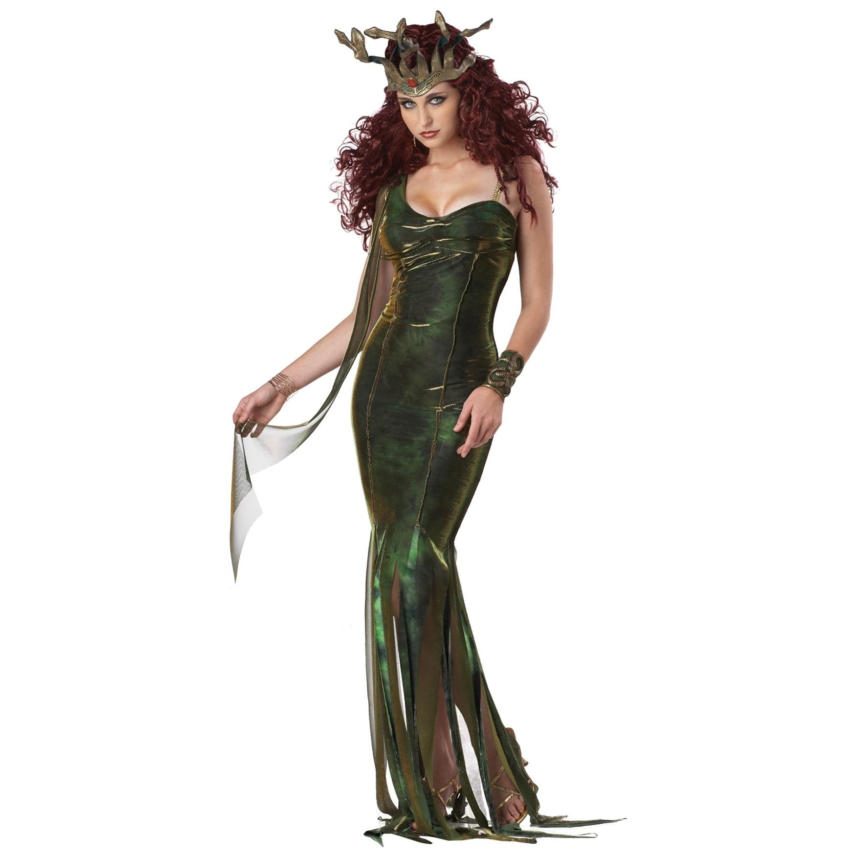 90's Porn Film Medusa Goddess serpentine goddess costume