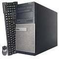Dell OptiPlex 990 Computer Tower Intel Core I5 2400 3.1G 16GB DDR3 1TB Windows 7 Pro 1 Year Warranty (Refurbished) - Black - Thumbnail 2