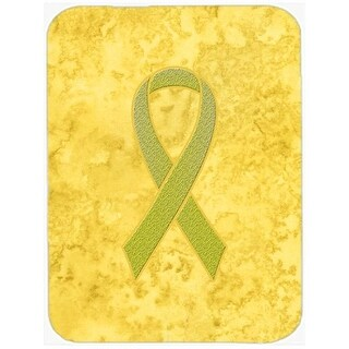 15 H x 12 L In. Yellow Ribbon for Sarcoma, Bone or Bladder