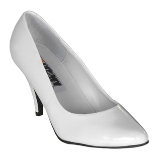 Ellie Shoes Women'S 8400 Dress Pump, White Patent, 13 M Us
