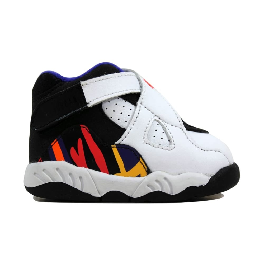 check out 0d7a8 f46a2 Nike Toddler Air Jordan VIII 8 Retro BT White/Infrared 23-Black-Bright  Concord 305360-142
