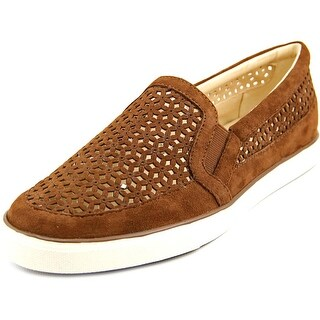 Nine West Banter Women Suede Brown Fashion Sneakers