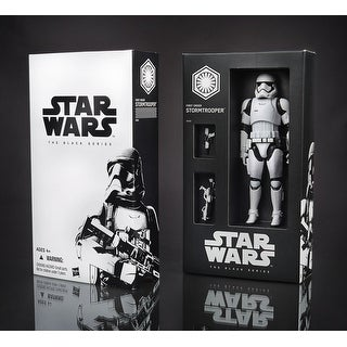 "Star Wars The Force Awakens Black Series 6"" Action Figure First Order Stormtrooper SDCC 2015 Exclusive"