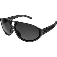 6bcd5c30b03 Ryders Eyewear Straz Black Crystal with AntiFog Grey Gradient Lens  Sunglasses