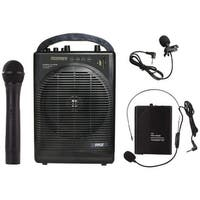 Pyle Pro Pwma1216Bm Portable Amp & Microphone System With Bluetooth(R)