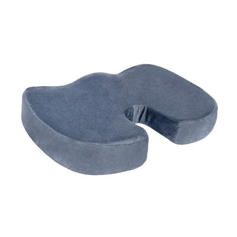 DII Memory Foam Coccyx Cushion Grey