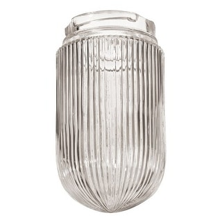 """Millennium Lighting RGCR 4"""" Wide Ribbed Glass Replacement Shade"""