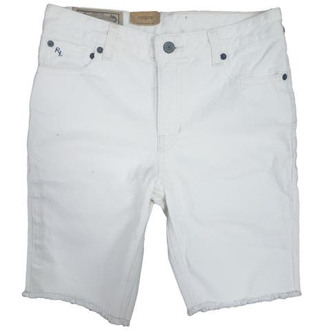 Polo Ralph Lauren Boy's Denim The Slouch 100% Cotton Jean Shorts
