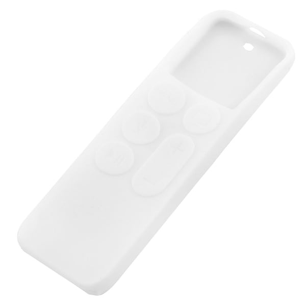 Silicone Protective Case Cover Skin White for Apple TV 2 3 Remote Controller