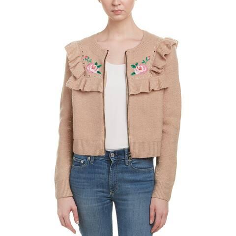 Wildfox Elliot Wool & Alpaca-Blend Jacket
