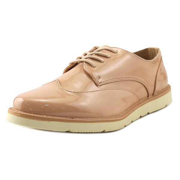 Restricted Elsie Women Round Toe Synthetic Nude Oxford