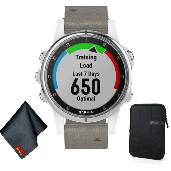 Shop Garmin FENIX 5S Plus Sapphire Edition Multi-Sport Training GPS