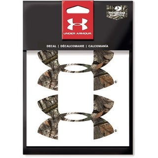 Under armour ude2115 under armour 4 2-pack ua logo mo treestand decal