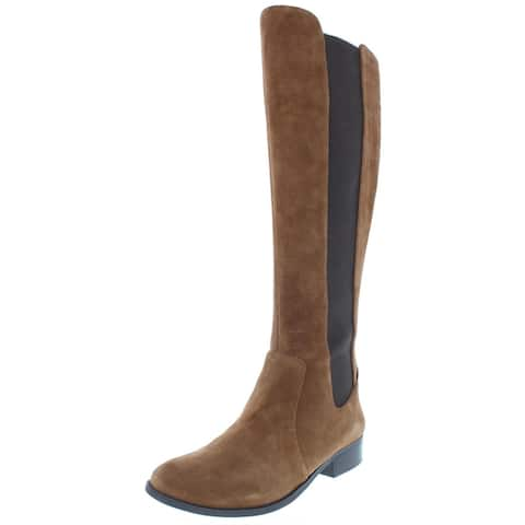 Jessica Simpson Womens Ricel Riding Boots Colorblock Knee-High