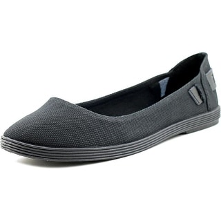 Blowfish Gertrude Women Round Toe Canvas Black Flats