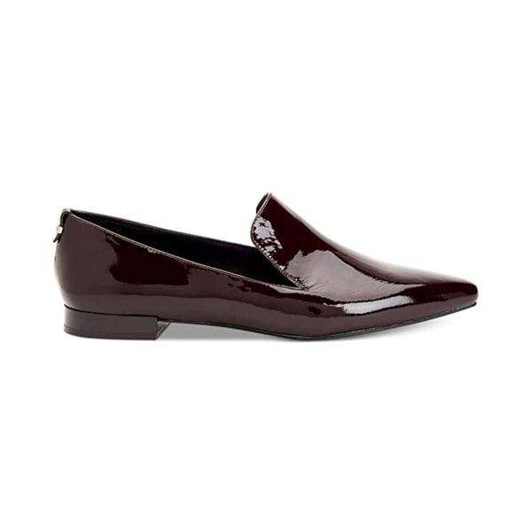 25be268920f Shop Calvin Klein Women s Elin Pointed Toe Flat