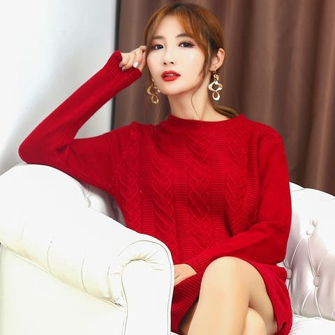 Autumn And Winter New Female Half-Neck Cashmere Bottoming Shirt