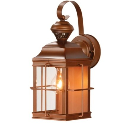 Heath Zenith HZ-4144-AZ New England Motion Security Light, Bronze Metal finish