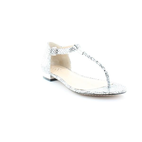 Vince Camuto Halana Women's Sandals & Flip Flops Silver - 6.5