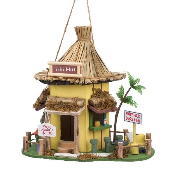 Retro Tiki Hut Birdhouse
