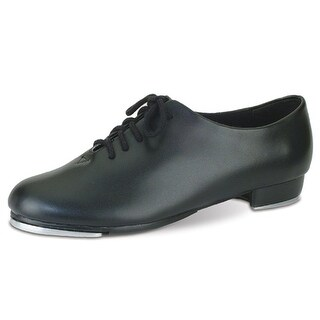 Danshuz Womens Black Oxford Lace Up Tap Dance Shoes Size 3.5-10