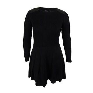 INC International Concepts Women's Crew Neck Sweater Dress