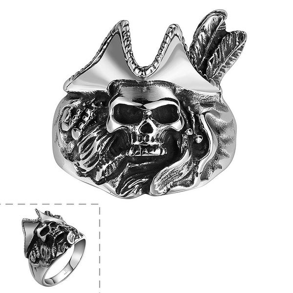 Vienna Jewelry Dead Cowboy Stainless Steel Ring